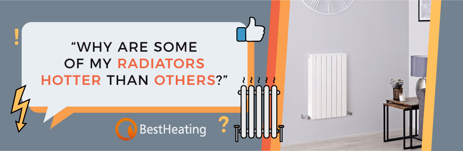 FAQ Header Image (Why are some of my radiators hotter than others?)