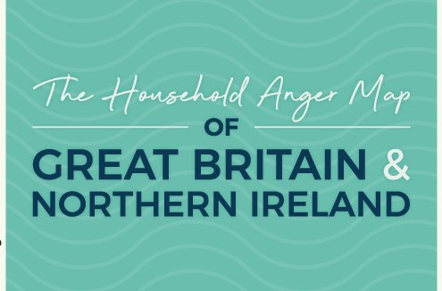 The BestHeating anger map of britain and northern ireland blog banner