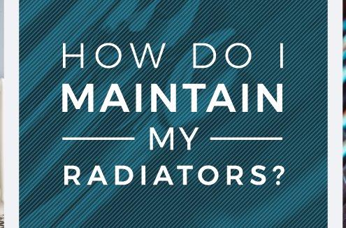 how to maintain radiators banner