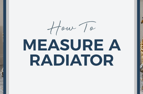 How to measure a radiator blog banner