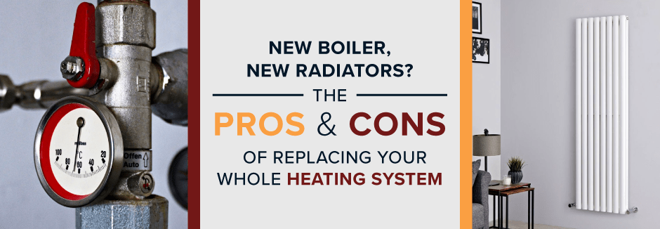 new boiler new radiators blog banner