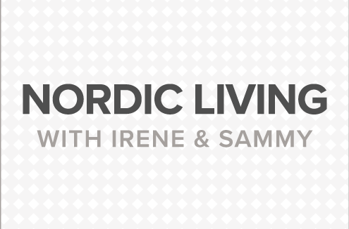 Nordic living with Irene and Sammy blog banner.