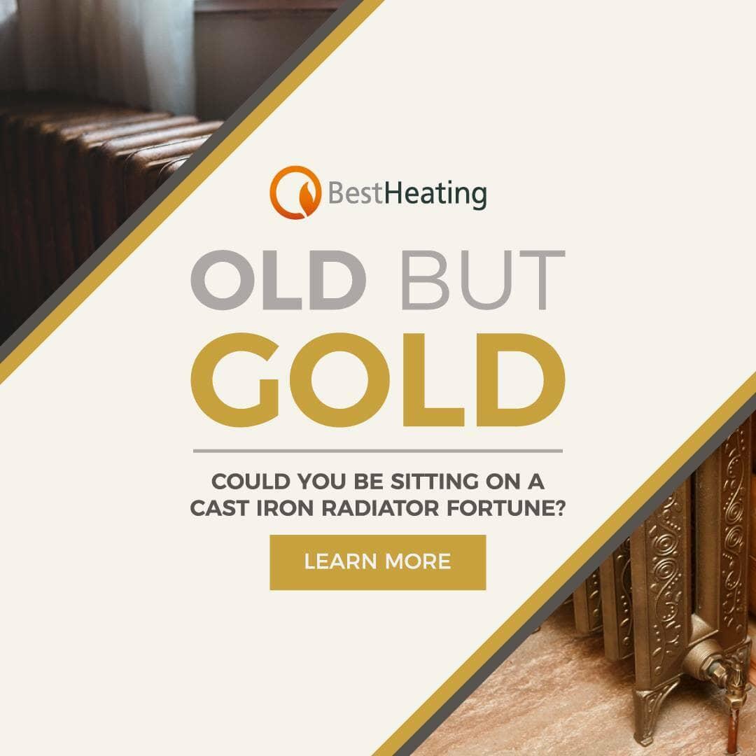 Old But Gold: Cast Iron Radiators blog banner
