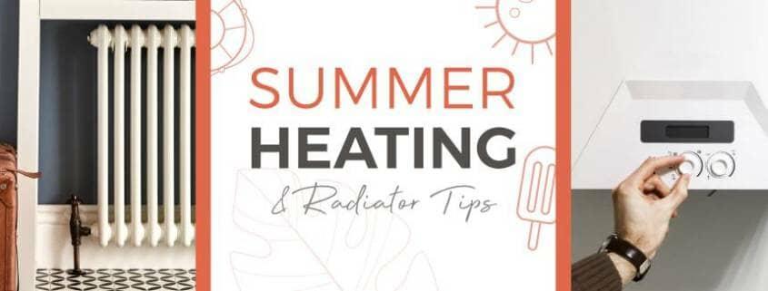 Summer Heating & Radiator Tips Featured Image