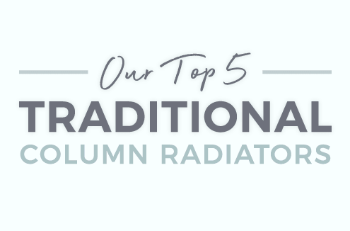 Top 5 traditional column radiators banner