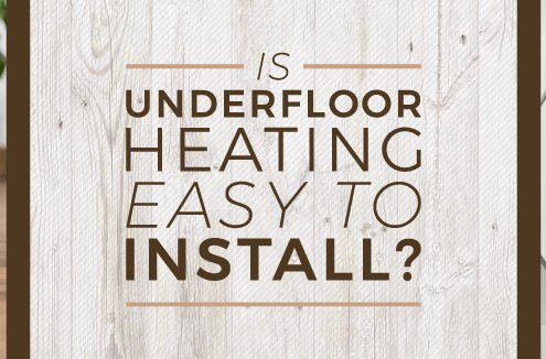 underfloor heating install blog