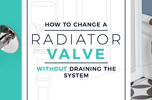 How to change a radiator valve without draining the system blog banner