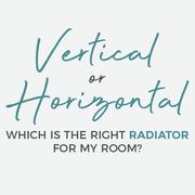 vertical or horizontal radiator blog banner
