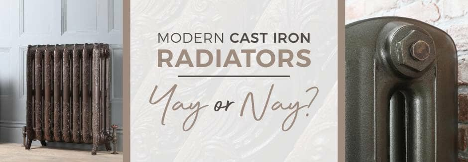 Modern Cast Iron Radiators blog banner