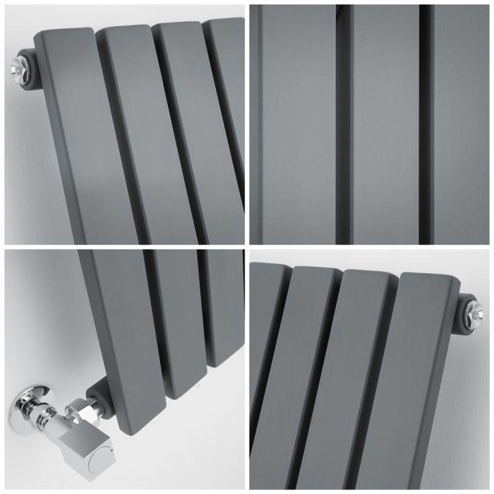 quad image of a small Milano Capri radiator