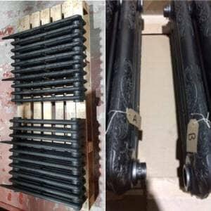 cast iron radiator sections