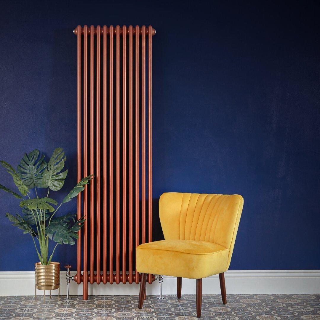 Milano Windsor vertical copper radiator