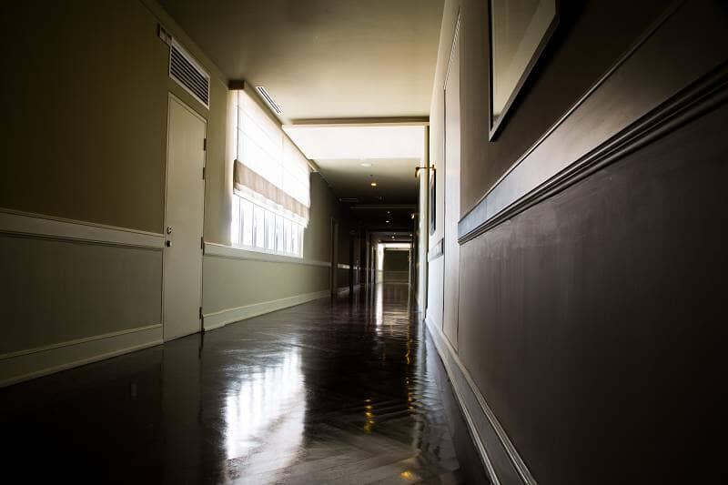 really long hallway