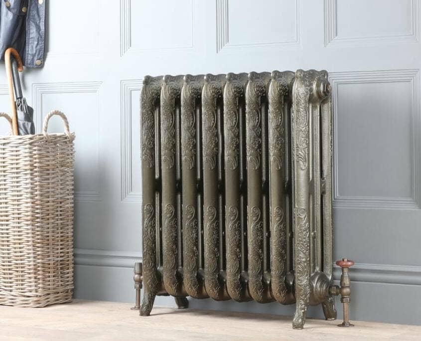 Milano Beatrix ornate cast iron radiator