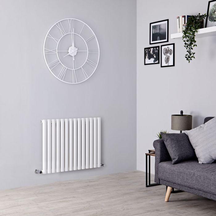 Milano Aruba designer radiator in a living room