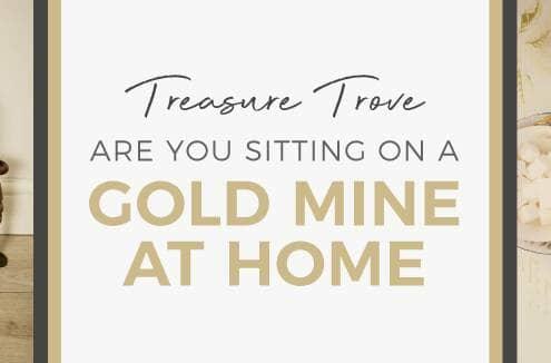 Treasure Trove at home blog banner
