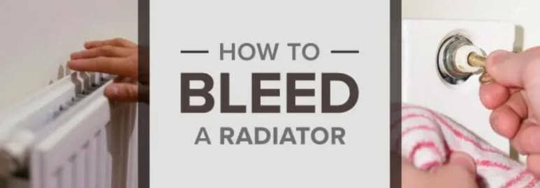 how to bleed a radiator blog banner