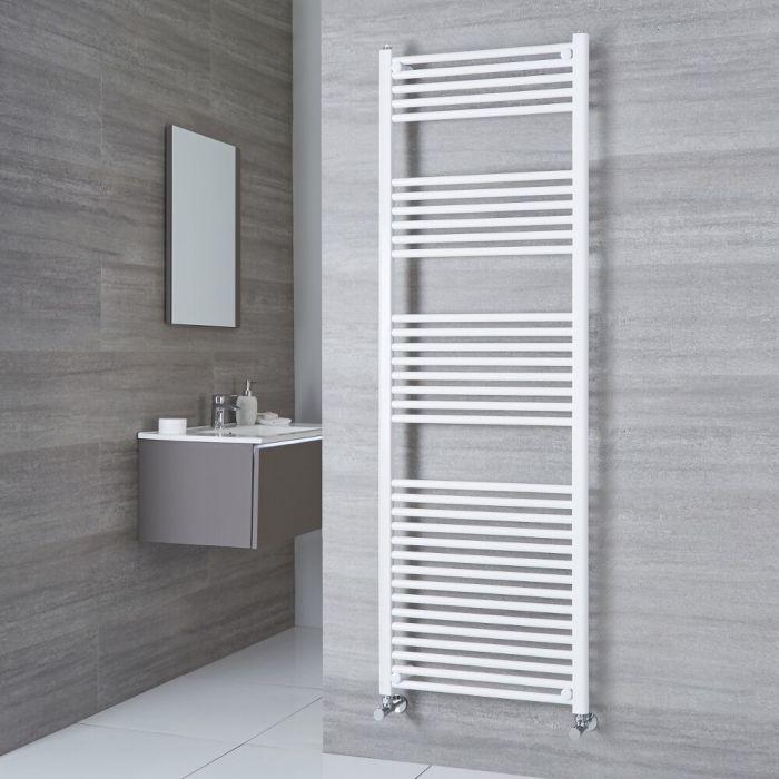 Large Milano Calder heated towel rail