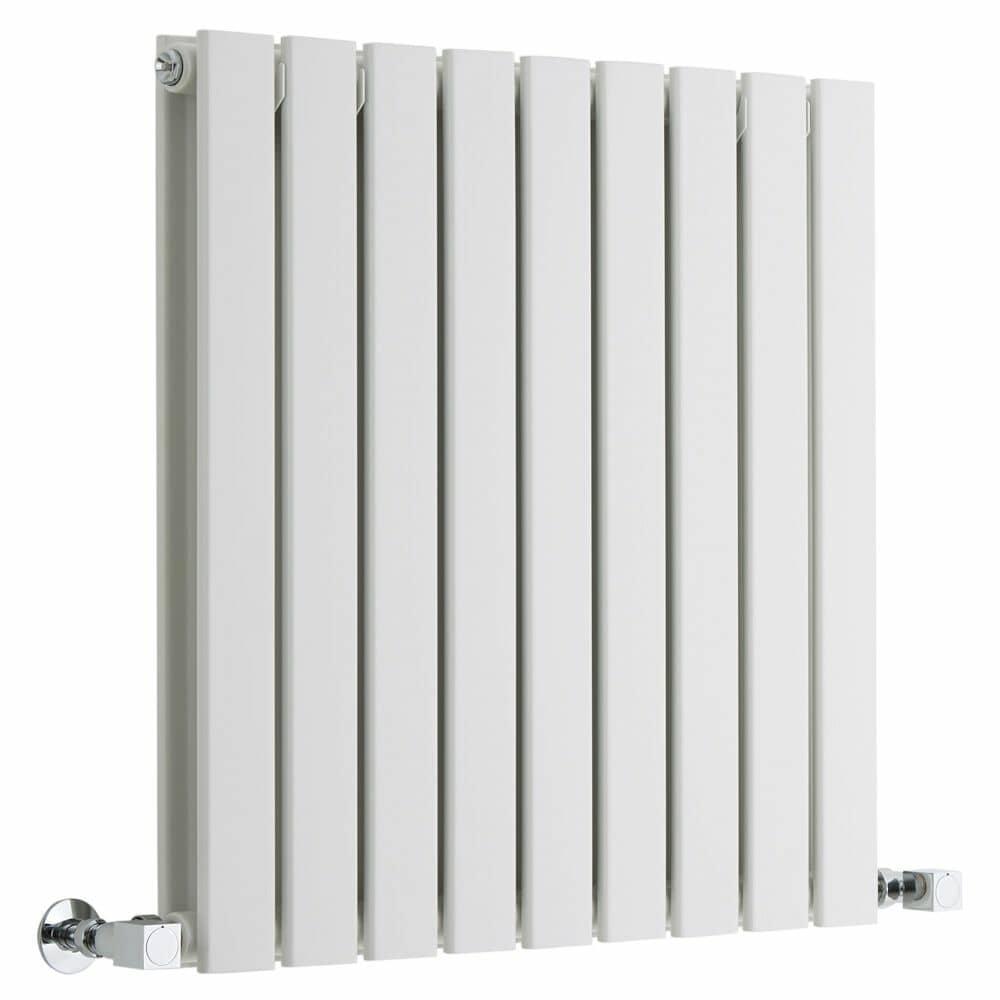 Milano Alpha white designer radiator