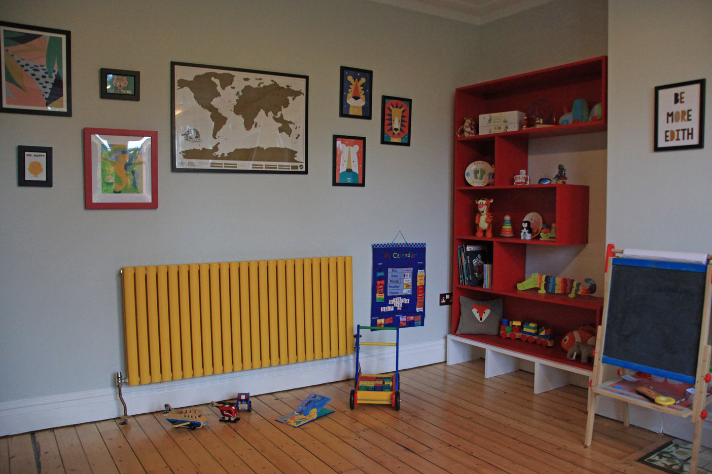 fresh start living children's playroom