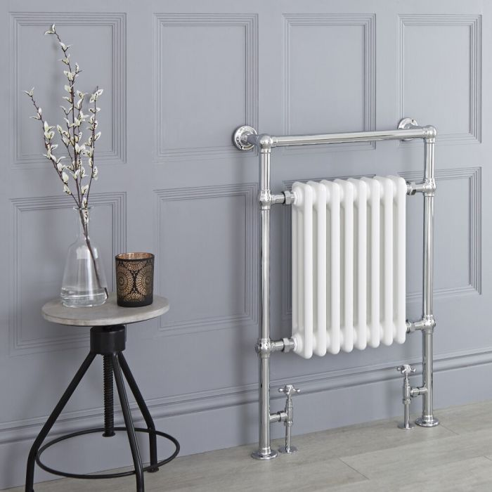 Milanoo Trent heated towel rail.