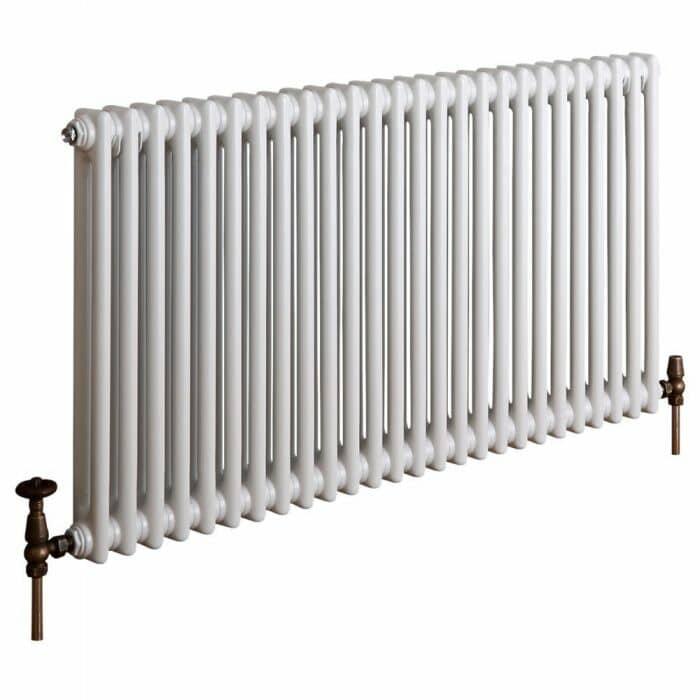 milano windsor white column radiator cut out