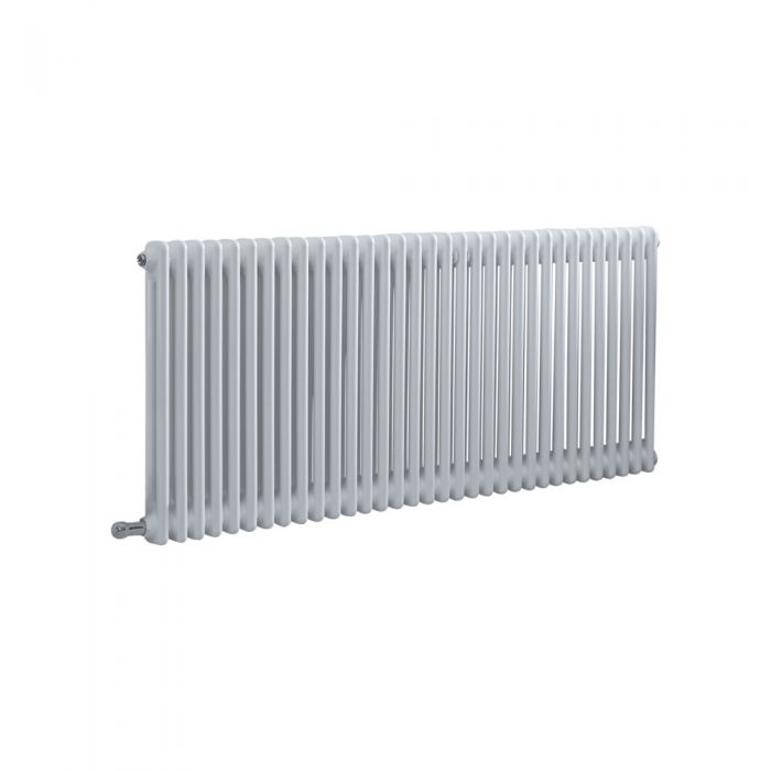 Milano Windsor - Traditional White 2 Column Electric Radiator 600mm x 1505mm (Horizontal) - Choice of Wi-Fi Thermostat