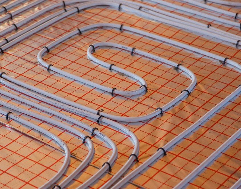 underfloor heating wiring