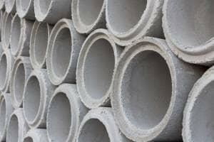 Concrete pipe pile