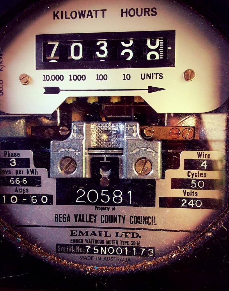kilowatts meters for electricity